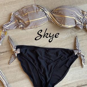 Skye strapless bikini